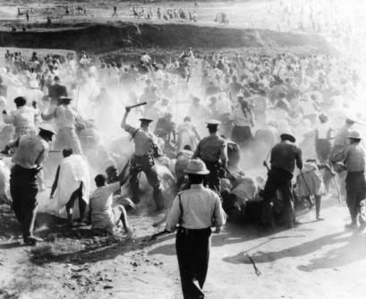 Sharpville en la Marcha de 21 marzo 1960