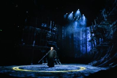 "The Royal Shakespeare Company ""The Tempest,"" Simon Russell Beale as Prospero"